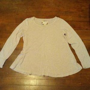 Cupio womans large long sleeve shirt